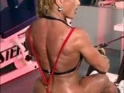fbb muscle woman bodybuilder_Heat_39  huge clit