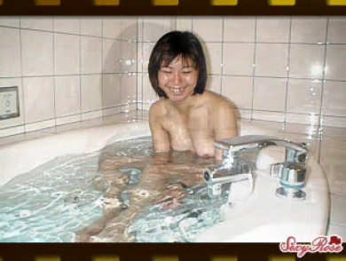 Slideshow Of Asian Chick Bathing & Fucking Cock