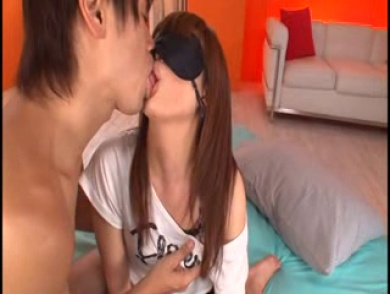 Gorgeous Japanese Babe Fucks Lucky Rod On The Floor