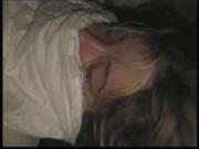 sleeping wife cum on