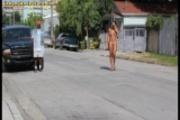 Public Nude Latina 1