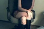 Webcam Girl in Boots