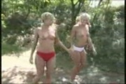 Two German Twins Fuck Each Other Outside