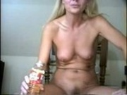 Piss: Sherry Carter Drinking a Bottle of Piss