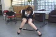 Asian Secretary In Bondage