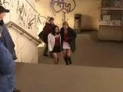 Piss: PUBLIC LESBIAN PEE AND LICK SESSION