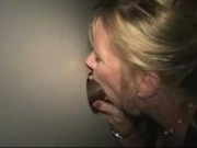Gloryhole amateur wife