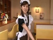 Japanese Maid Cosplay