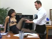 Sativa Rose pantyhose sex