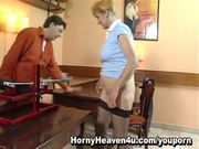 Fucking Machine With Old Mom