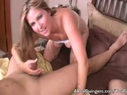 Horny Wives Swap Husbands! MILF 4Some!