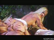 Blonde's Butt Banged Beautifully