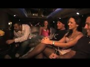 hot orgy in limo
