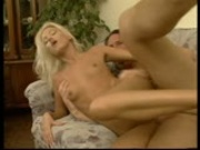 Blonde just wants to go up and down