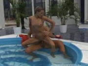 Hottie Fucked By The Pool
