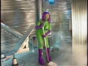 Green purple people eater PT.3