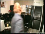 Horny voyeur in the tattoo parlor - DBM Video