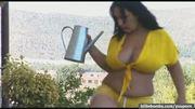 Huge tits in bikini top