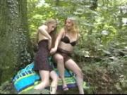 Enjoying the Great Outdoors...AND get\'n my dick Wet!!