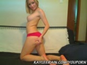 Kaylee Rain Gets Nasty on her Private Cam