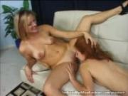 Hot Girl Seduced By A Real Lesbian