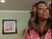 """The horny black girl does a """"Something about Mary"""" pt 1/3"""
