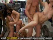 Wild Orgy In The Laundry Mat!