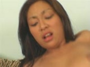 Asian girl likes to be fucked in ass as much as pussy