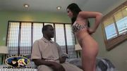 Hot wife and mom cheats with a big black dick