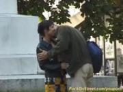 anal sex in public park