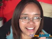 Cum Facial on Glasses Annie Cruz asian