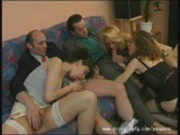 French Gangbang Part 1
