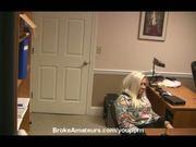 Amateur girl blowjob audition video