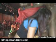 Male stripper get blowjob with whipcream on stage