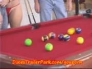 Trailer Trash POOL Shooting with MILF and Co-Ed