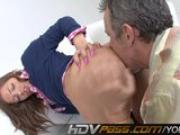 Ashlynn Leigh Nailed By Older Man
