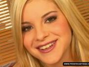Teen Sera at Her Casting Audition Shows Her...