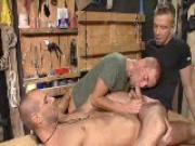 Tool Shed Threesome