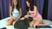 Faith Leon rides the sybian with Charlie Laine