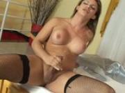 Busty T girl jerking off while sucking dick - Pandemonium