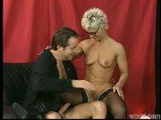 German MILF Undresses (clip)