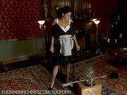Maid machine fucked in Forbidden Lounge