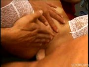 Vanessa gets her ass massaged
