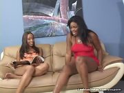 Slim Sexy Black Lesbians Lick Pussy And Fuck