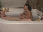 HUNNY BUNNY BLOWS IN THE BATHTUB