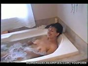 Mature Couple Anal Fuck in Bathtub