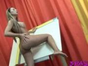 Chick shows her delights