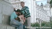 NOTRE DAME DE PARIS public threesome PART 2
