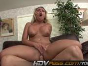 HDVPass Aubrey Adams blows and bangs