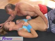 FitnessRooms After gym class sweaty sex sessions